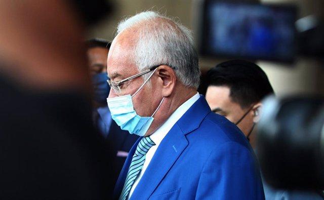 Archivo - El ex primer ministro de Malasia Najib Razak