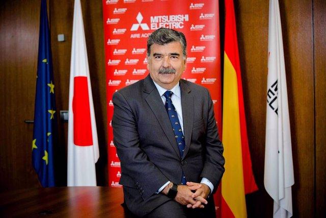 Pedro Ruiz, Presidente de Mitsubishi Electric Europe, B.V sucursal España