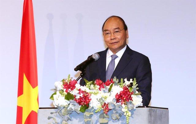Archivo - El primer ministro de Vietnam, Nguyen Xuan Phuc