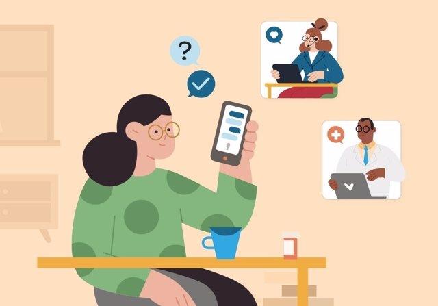Aplicación de inteligencia artificial conversacional