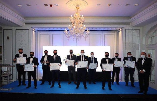 Entrega de la I Edición del Premio Europeo a la Calidad Empresarial 2021
