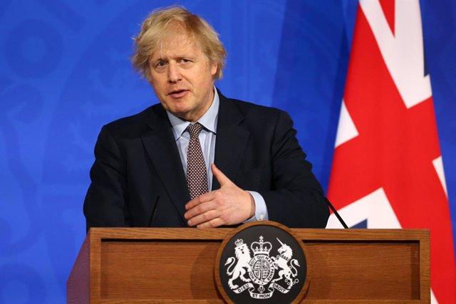 El primer ministre del Regne Unit, Boris Johnson