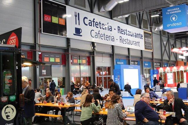 Archivo - Cafetería en Ifema