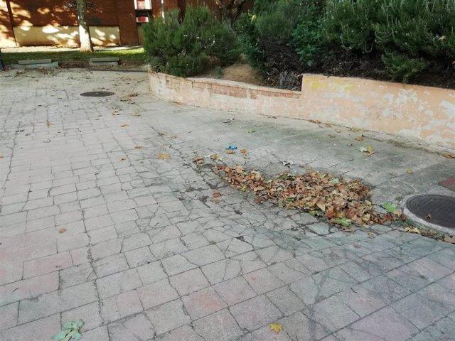 El Plan de Empleo ejecuta un arreglo integral del parque de la calle Hermanos Fernández Galiano de Guadalajara