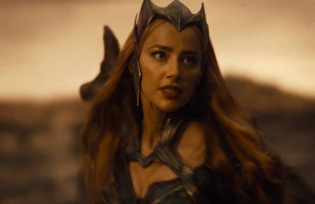 Amber Heard revela el vídeo más incómodo del Snyder Cut de Liga de la Justicia