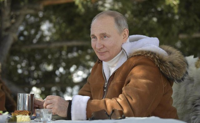 Vladimir Putin, presidente de Rusia, en Siberia