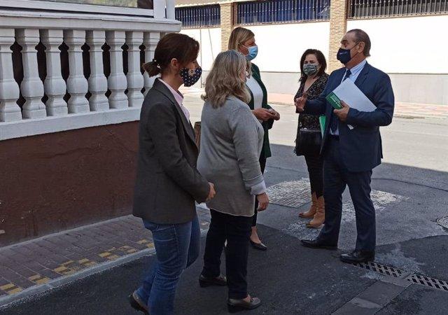 Visita de la Junta a La Zubia