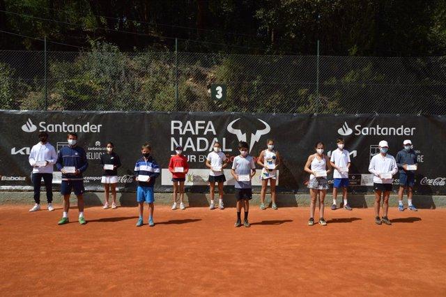 El Rafa Nadal Tour by Santander reunió en Barcelona al mejor talento del tenis juvenil.