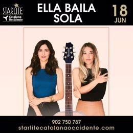Cartel de Ella Baila Sola en Starlite
