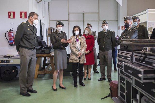 Arxiu- La ministra de Defensa, Margarita Robles