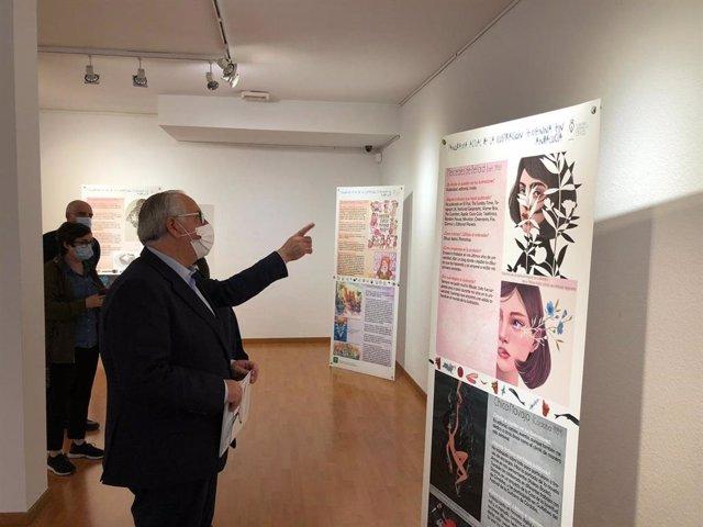 Inauguración de la exposición 'Panorama actual de las ilustradoras en Andalucía'