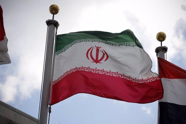 Archivo - Bandera de Irán.