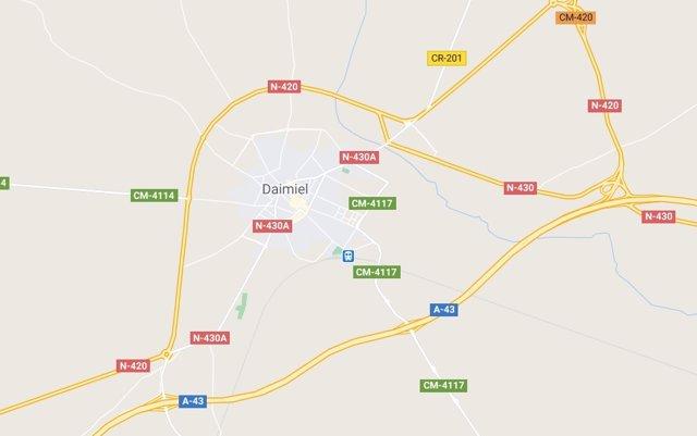 Imagen de Daimiel en Google Maps
