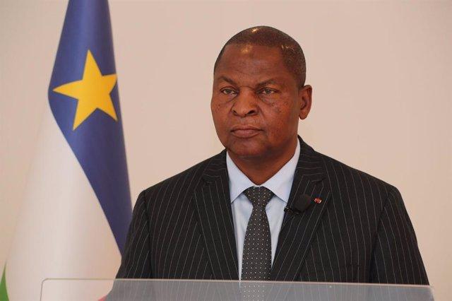 Archivo - Faustin Archange-Touadéra, presidente de República Centroafricana