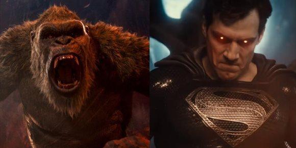 1. Godzilla vs. Kong supera al Snyder Cut de La Liga de la Justicia en visionados en HBO