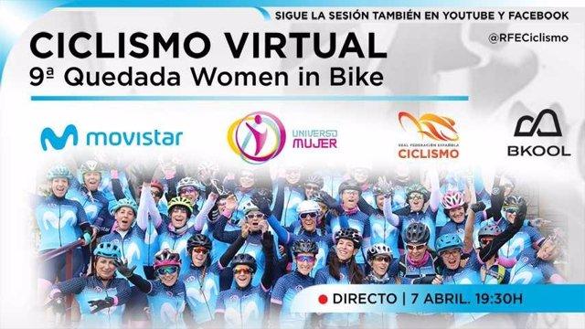 'Women in Bike' rueda de forma virtual en la París-Roubaix