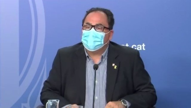 El director general de Relaciones Laborales, Trabajo Autónomo, Seguridad y Salud Laboral de la Generalitat, Enric Vinaixa