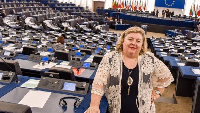 Archivo - La eurodiputada del PSOE Clara Aguilera, en una foto de archivo.