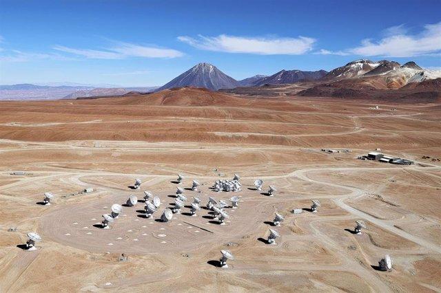 Archivo - Emplazamiento De Las Antenas Del Telescopio ALMA