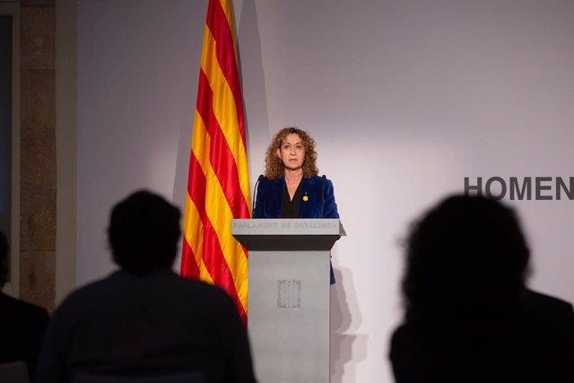 Archivo - Arxiu - La consellera de Justícia de la Generalitat, Ester Capella.