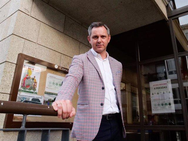 El nuevo delegado del Gobierno y exalcalde de Ames, José Miñones