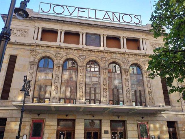 Archivo - Teatro Jovellanos, en Gijón
