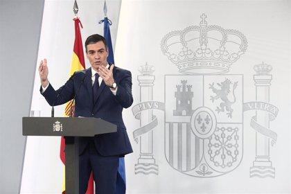 (AM) Sánchez dice que España crecerá un 6,4% en 2021 según FMI y el martes se aprobará el Plan de Recuperación
