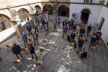 Culmina el programa de becas Europa de la Diputación de Cáceres, que trabaja en un Erasmus rural