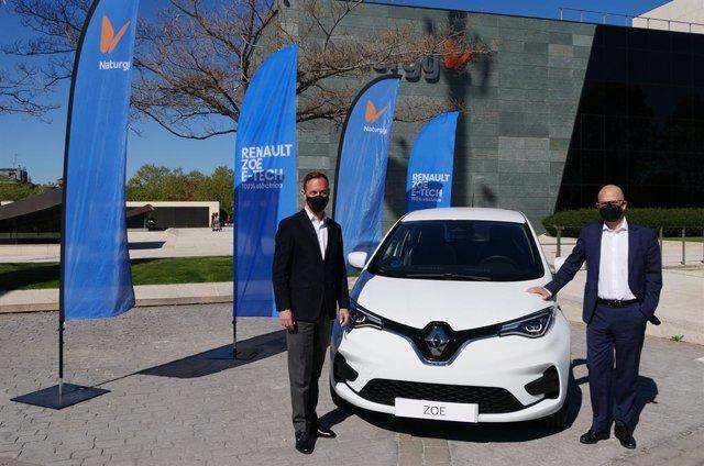 Acuerdo entre Renault y Naturgy.