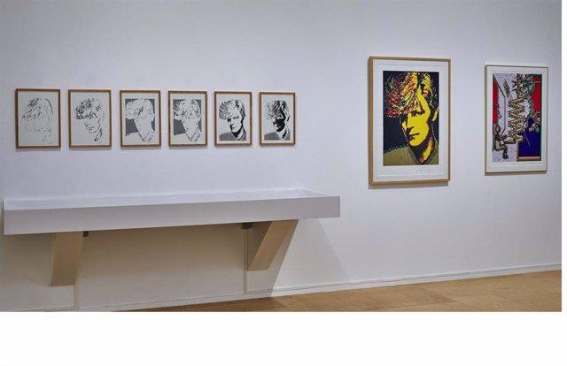 Archivo - Exposición de 'Charlotte Johanesson' en el Museo Reina Sofía