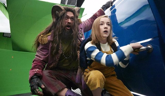 Primeras imágenes del set de Slumberland con Jason Momoa