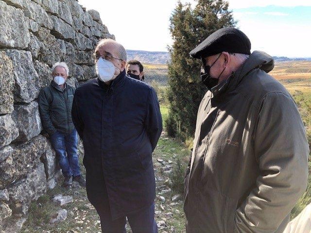 Rando ha visitado el yacimiento.