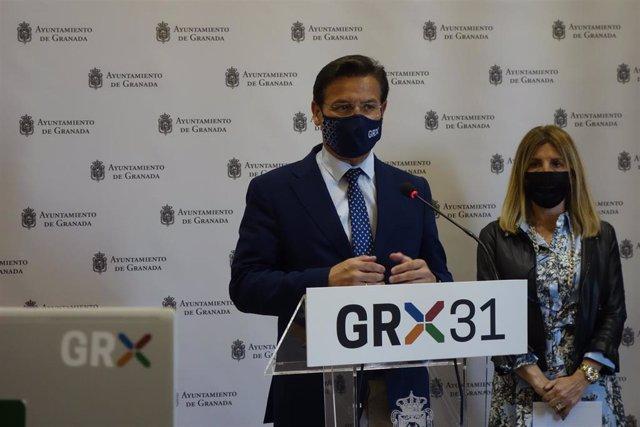 El alcalde de Granada, Luis Salvador, hace balance de la Semana Santa