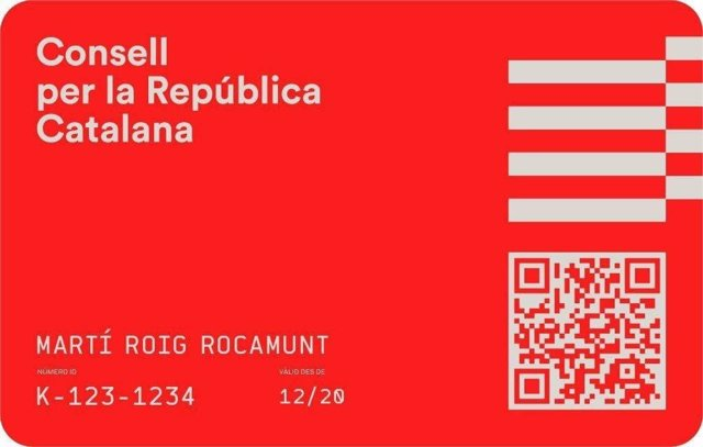 El Consell per la República presenta la 'identitat digital ciutadana'.