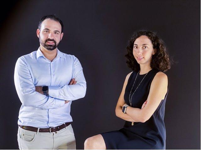 Archivo - Los cofundadores de Atani, Paul Barroso (CEO) y Haydee Barroso (COO).