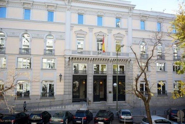 Archivo - Sede del CGPJ en Madrid