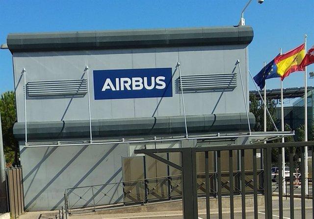 Archivo - Planta de Airbus en Getafe