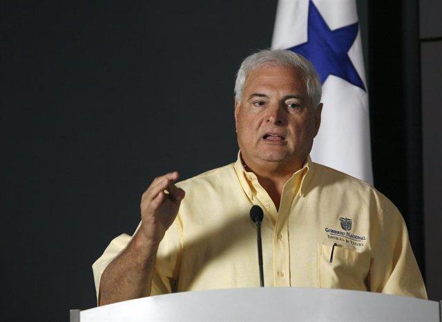 Archivo - El Presidente De Panamá, Ricardo Martinelli.