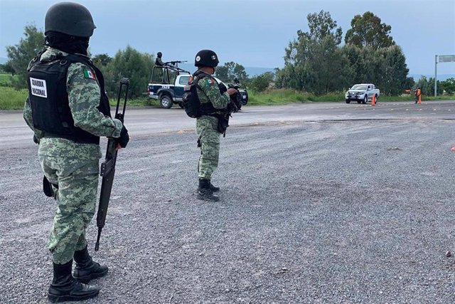 Archivo - Guardia Nacional de México.