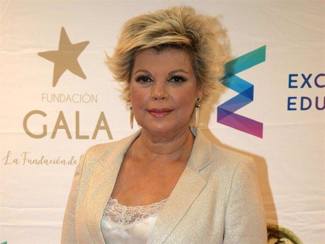 Terelu Campos presentó la gala de los Premios Radio Televisión