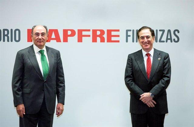 Ignacio Galán, presidente Iberdrola, y Antonio Huertas, presidente Mapfre