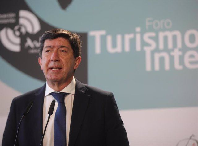 El vicepresidente de la Junta y consejero, Juan Marín, en una imagen de 26 de marzo.