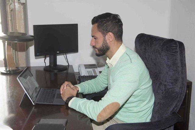 Mario Fernández, vicepresidente segundo de la Diputación y responsable del Área de Transición Ecológica y Desarrollo Urbano Sostenible