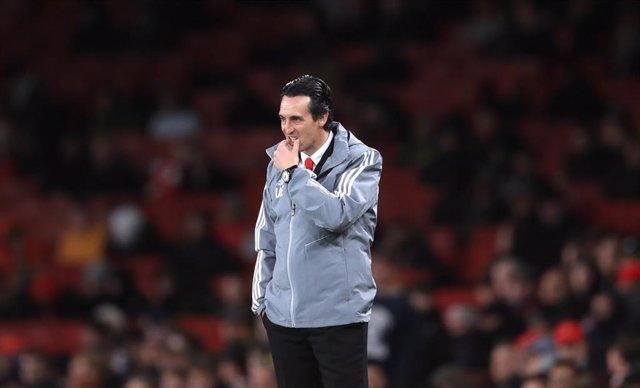 Archivo - El entrenador del Villarreal Unai Emery en su etapa en el Arsenal.