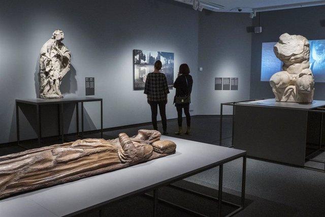 La exposición 'Non finito. El arte de lo inacabado', en el centro cultural CaixaForum Palma.