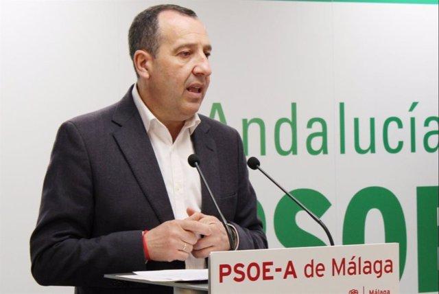 José Luis Ruiz Espejo, secretario general del PSOE de Málaga