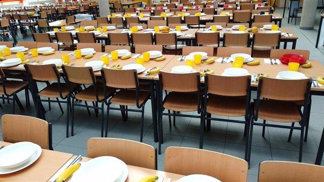 Archivo - Comedor escolar, foto de recurso