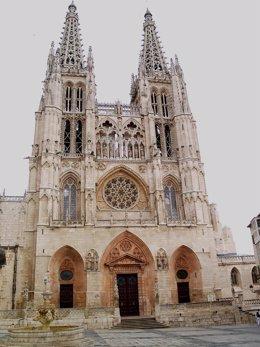 Archivo - Vista exterior de la Catedral de Burgos. Archivo.