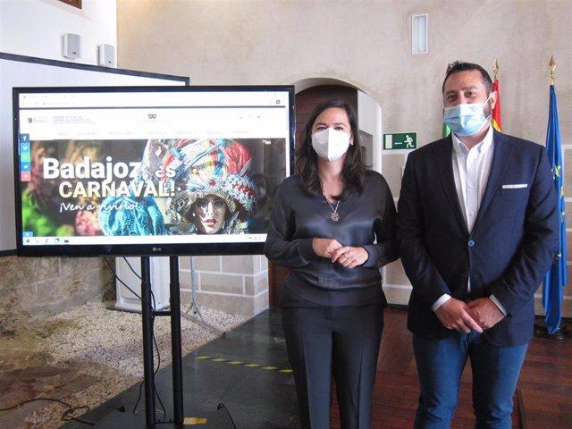Presentación de la web oficial del Carnaval de Badajoz