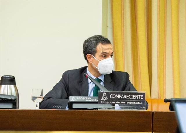 Rafael Barbadillo, presidente de la Confederación Española de Transporte en Autobús (CONFEBUS), comparece en la Comisión sobre Seguridad Vial del Congreso